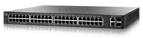 Cisco SF 200E-48P 48-Port 10/100 PoE Smart Switch