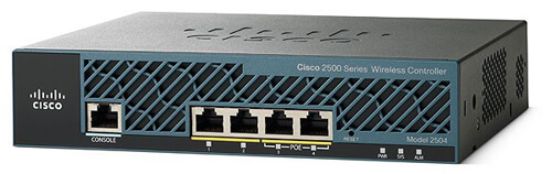 Cisco 2500 Series Wireless Controllers