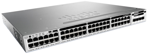 Cisco Catalyst 3850 Stackable 48-Port Switch