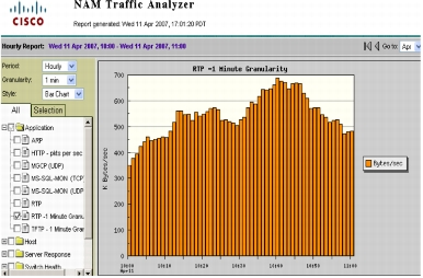 Highly Granular Analysis of RTP Traffic on the Network