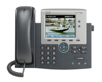Cisco Unified IP Phone 7945G front