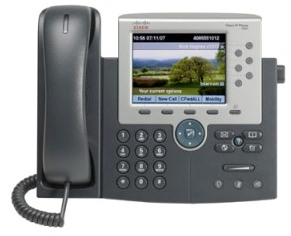 Cisco Unified IP Phone 7965G front