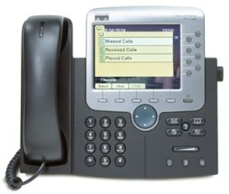 Cisco Unified IP Phone 7970G front