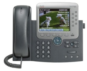 Cisco Unified IP Phone 7975G front