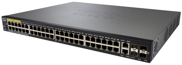 Cisco SF350-48P 48-Port 10/100 PoE+ Managed Switch | SecureITStore com