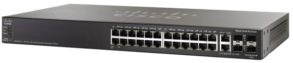 Cisco SF500-24 24-Port Fast Ethernet Switch