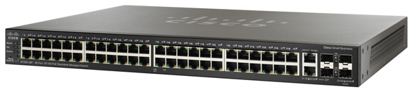 Cisco SF500-48P 48-Port PoE Fast Ethernet Switch