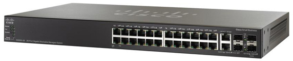 Cisco SG500-28 24-Port Gigabit Ethernet Switch