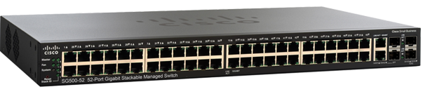Cisco SG500-52 48-Port Gigabit Ethernet Switch