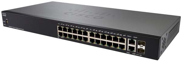 Cisco Sg250 26 26 Port Gigabit Smart Switch