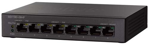 Cisco SG110D-08HP